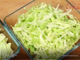 Как нашинковать капусту