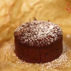 Готовим французский шоколадный фондан