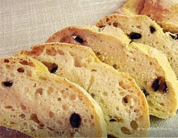 Чабатта(Ciabatta)итальянский белый хлеб