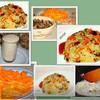 Рис с грибами и фисташками ( постный)