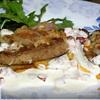 Печень телячья под сливочным соусом