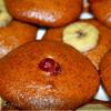Бананово-карамельное печенье, постное