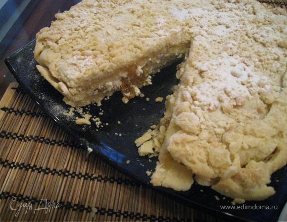 Французский пирог (творожный)