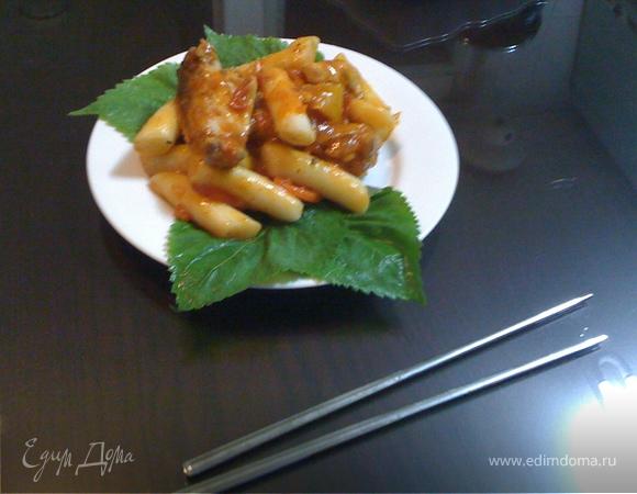 Topoky (корейская паста)