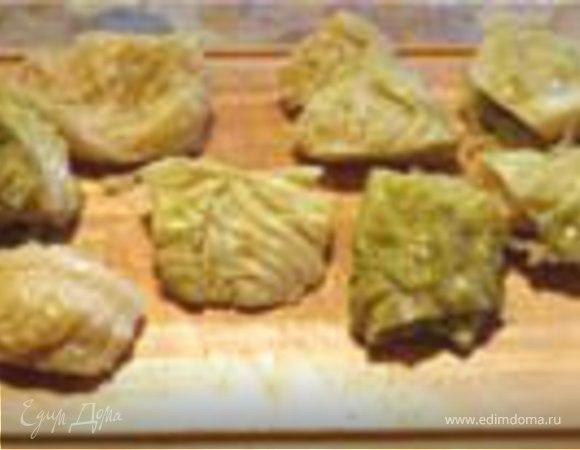 Шницель из молодой капусты