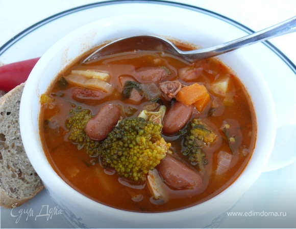 Легкий летний суп рецепт с фото