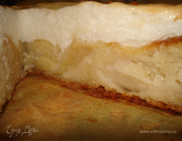 Яблочный пирог с безе ANNA973