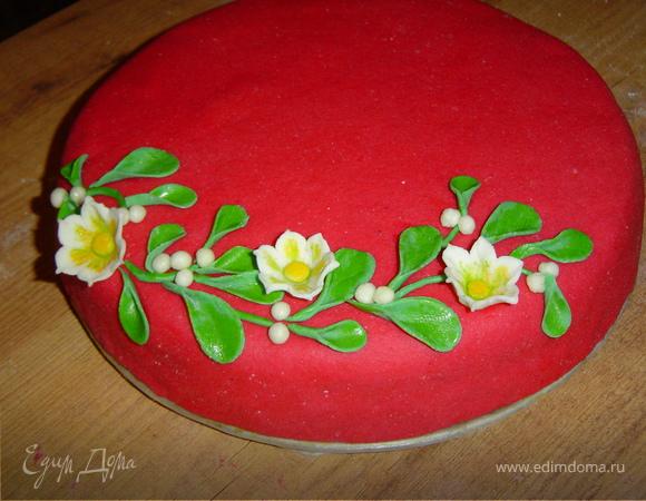 "Tescoma. Торт "" Зимние цветы"""