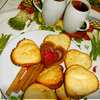 Апельсиново-клубничный кекс