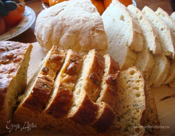 Хлеб с душистыми травами
