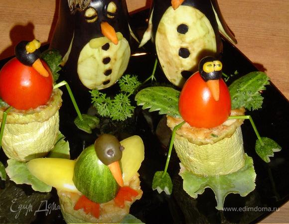 """Овощная закуска """"Птичий рынок"""""""