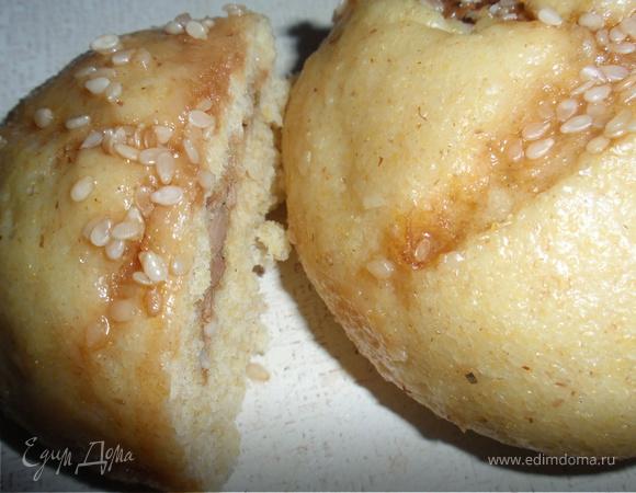 Баоцзы с печенью и творогом