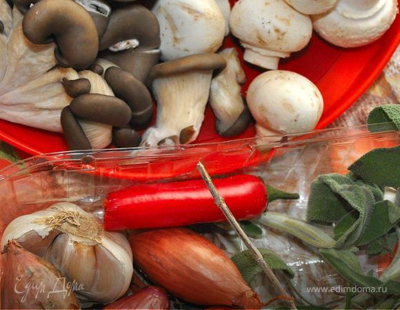 Грибная кассероль (Mushroom Casserole)