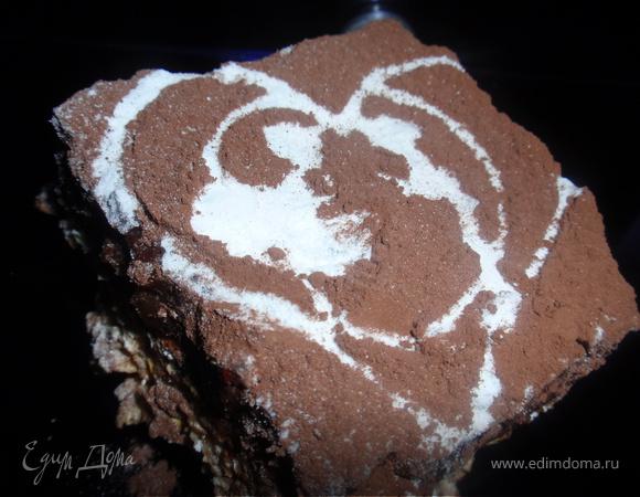 Овсяно-трюфельные пирожные