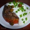 Печеночно-овощные маффины