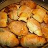 Творожные рогалики с абрикосами