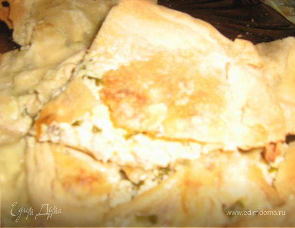 """Греческий пирог или """"Не только греческие боги готовят тесто фило"""":-)"""