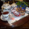 Утренняя рапсодия к вечернему чаю(пироженое без выпечки )