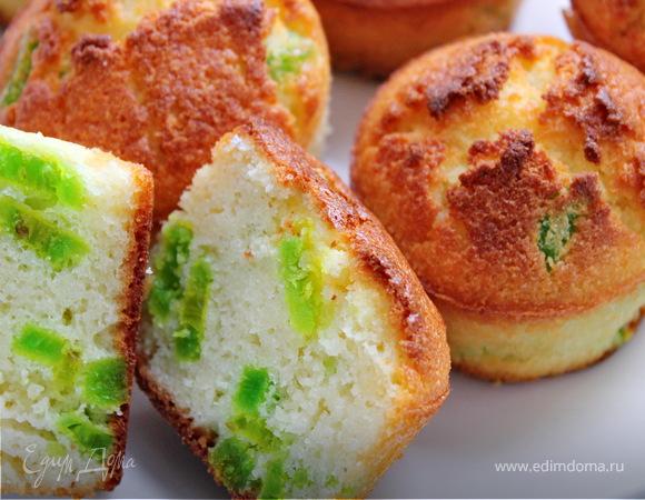 Кексы с зеленым кумкватом для Вениамина