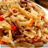 Чапче – крахмальная лапша с овощами и говядиной. Рецепт №4. Корея.
