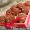 Шоколадно-клубничные конфеты с розмарином