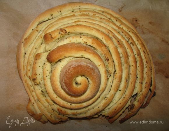 Пряно-чесночный хлеб