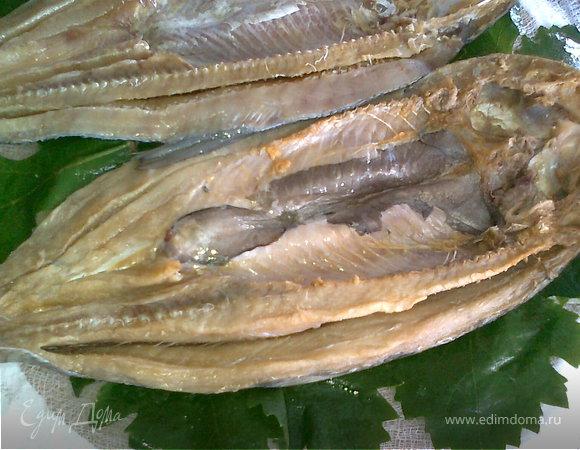 Долма из копчёной рыбы