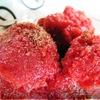 Сорбе ванильно-клубнично-черешневое
