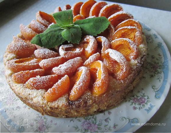 Тарт абрикосовый