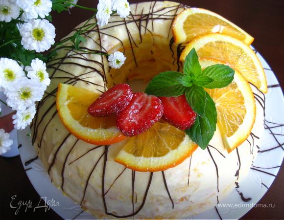 """Торт """"Солнечный день"""""""