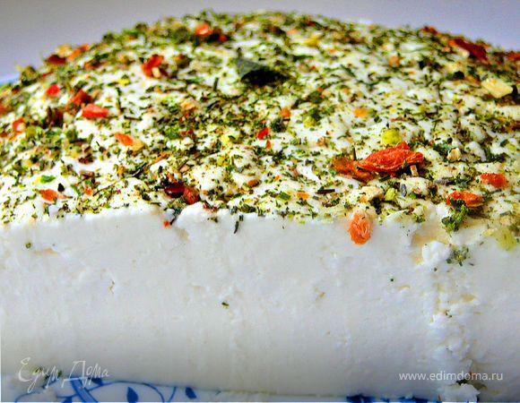 Домашний сычужный сыр