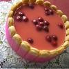 Торт Клубнично-шафрановые облака (Tescoma)