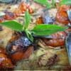 Фокачча с бальзамическими помидорами.
