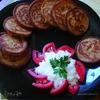 Гречневые оладьи с сырно-чесночным соусом
