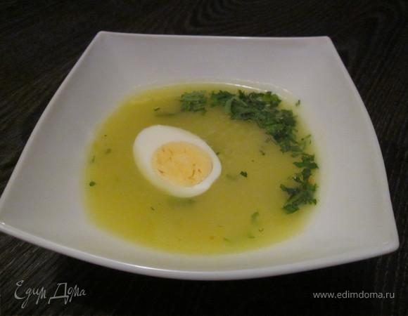 Суп-пюре с кабачками