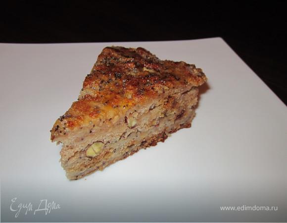 """Постный яблочный пирог к празднику """"Яблочный Спас"""""""