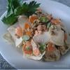 Салат с сельдереем, маш и мелотрией