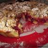 Сливовый пирог под хрустящей корочкой