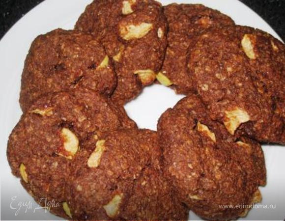 Злаковые шоколадные булочки