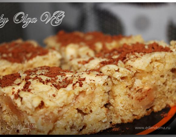 Яблочный пирог с ОВСЯНЫМИ ХЛОПЬЯМИ (Нордик)