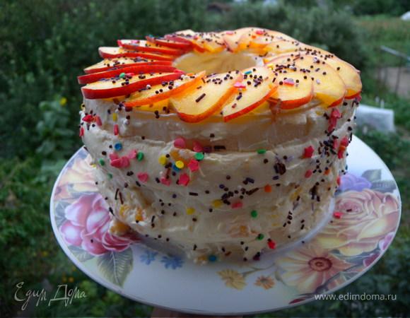 рецепты торта без коржей