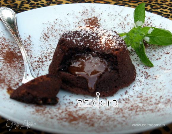 Горячее сердце шоколада