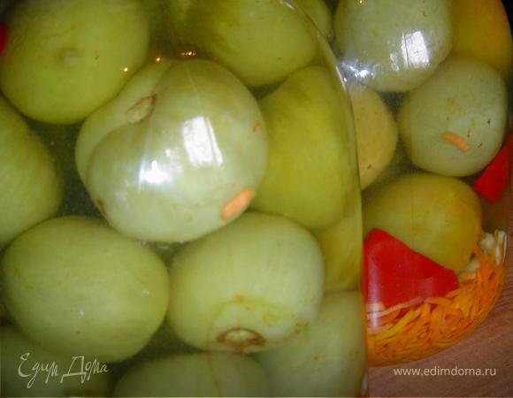 Готовимся к зиме: Зеленые помидоры