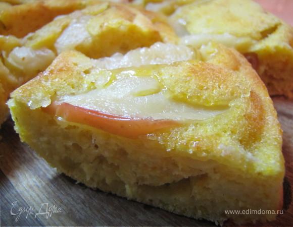 Пирог тыквенно-яблочный