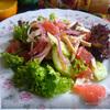 Салат с куриной грудкой-гриль и грейпфрутом