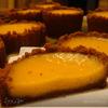 Тыквенные-имбирные тарталетки из домашнего печенья
