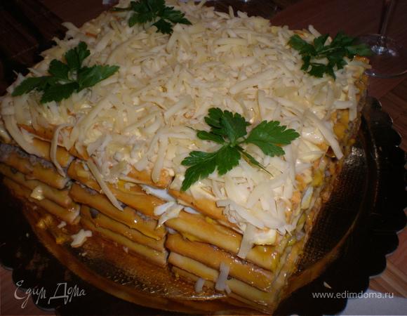 Соленый тортик