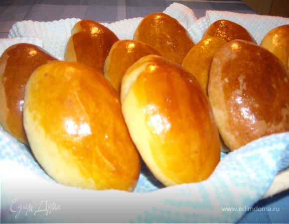Печеные пирожки с капустой рецепт фото