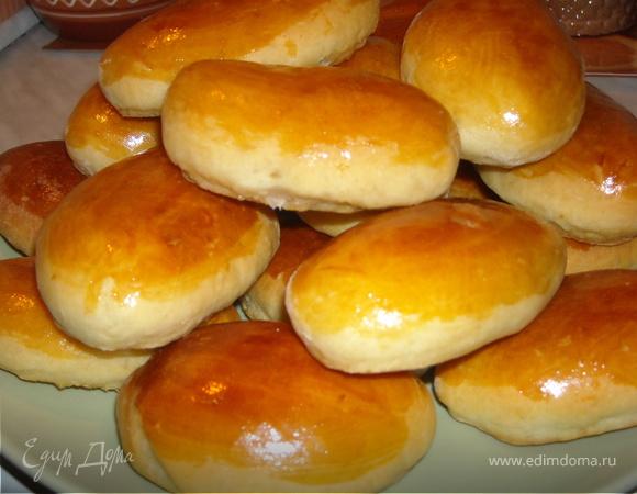 Сдобные пирожки в духовке рецепт пошагово в