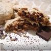 Кунжутное печенье с шоколадом